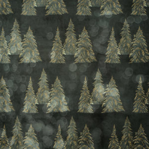 Snowy Trees / Bokeh Thyme