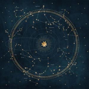 Circular Astro Starmap